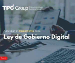 Se publica el Reglamento que aprueba la Ley de Gobierno Digital