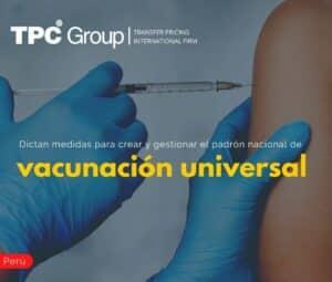 Dictan medidas para crear y gestionar el padrón nacional de vacunación universal