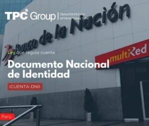 Ley que regula cuenta Documento Nacional de Identidad (CUENTA-DNI)