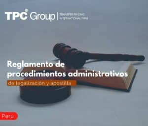 Reglamento de procedimientos administrativos de legalización y apostilla