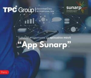 "SUNARP implementa su aplicativo móvil ""App Sunarp"""