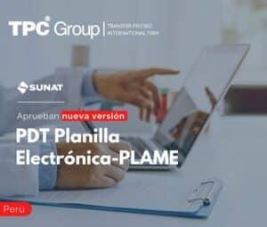 Aprueban nueva versión del PDT Planilla Electrónica-PLAME