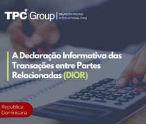 A declaração informativa das transações entre partes relacionadas