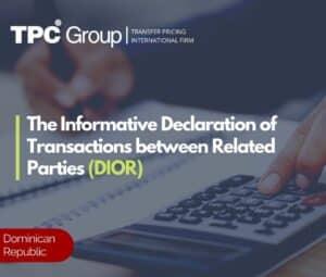 The informative declaration of transactions between related parties