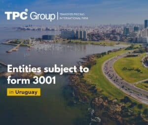 Entities subject to form 3001 In Uruguay