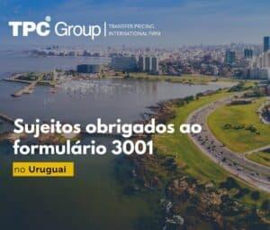 Sujeitos obrigados ao formulário 3001 no Uruguai