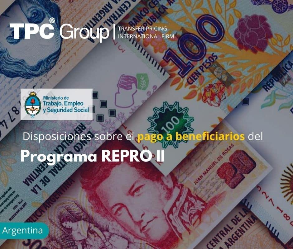 Disposiciones sobre el pago a beneficiarios del Programa REPRO II