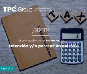 Incorporación de los regímenes de retención y/o percepción del IVA