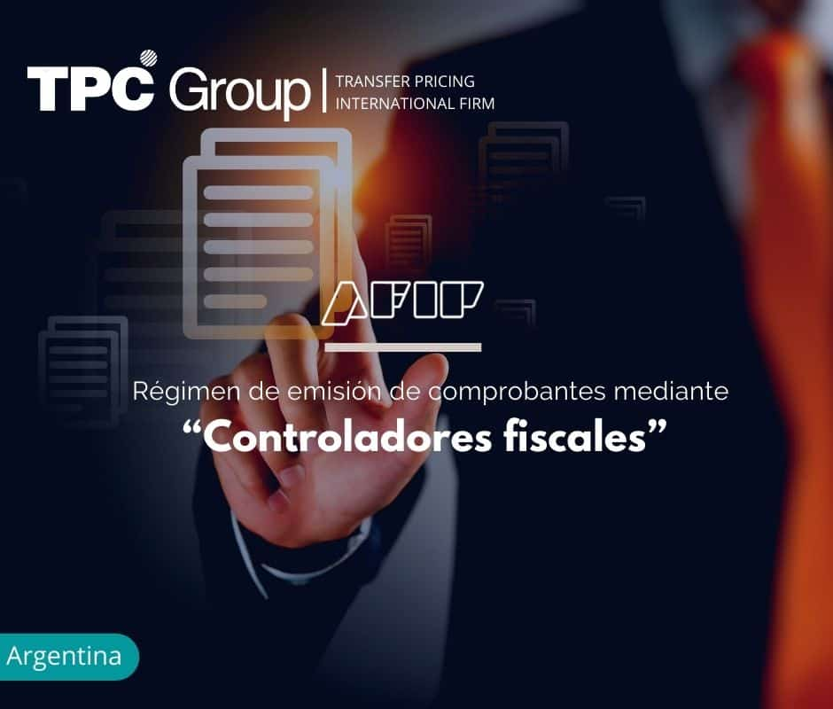 "Régimen de emisión de comprobantes mediante ""Controladores fiscales"""