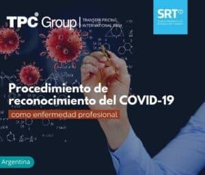 Reconocen el COVID-19 como enfermedad profesional