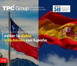 Aplicación de convenio para evitar la doble tributación con España