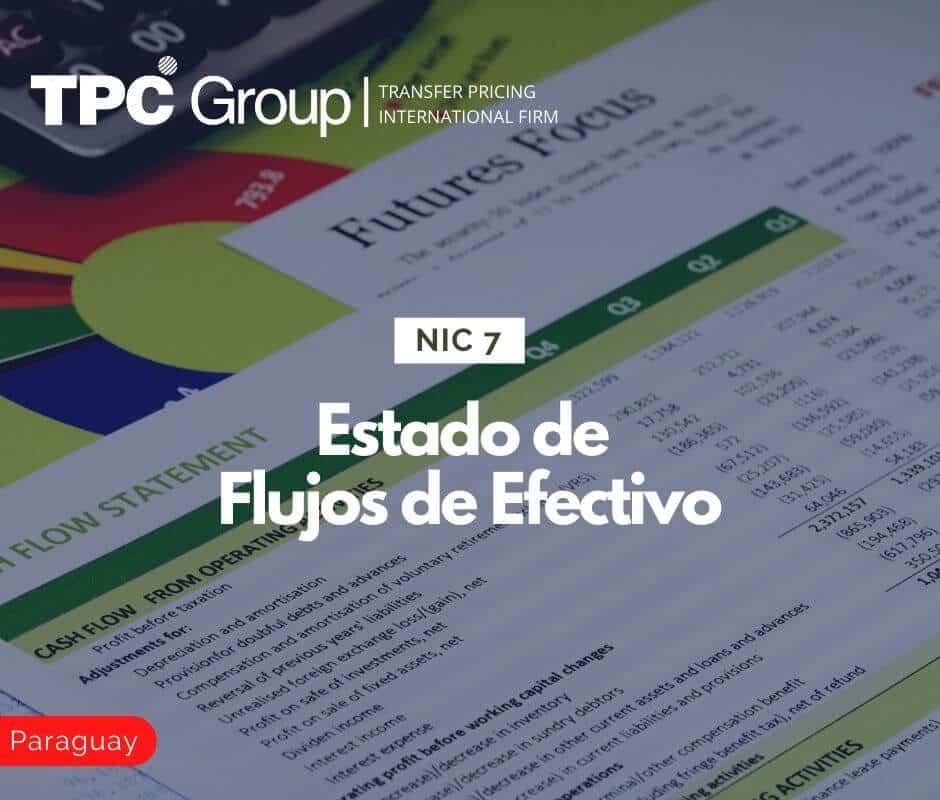 NIC 7 Estado de Flujos de Efectivo en paraguay