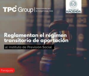 Reglamentan el régimen transitorio de aportación al Instituto de Previsión Social