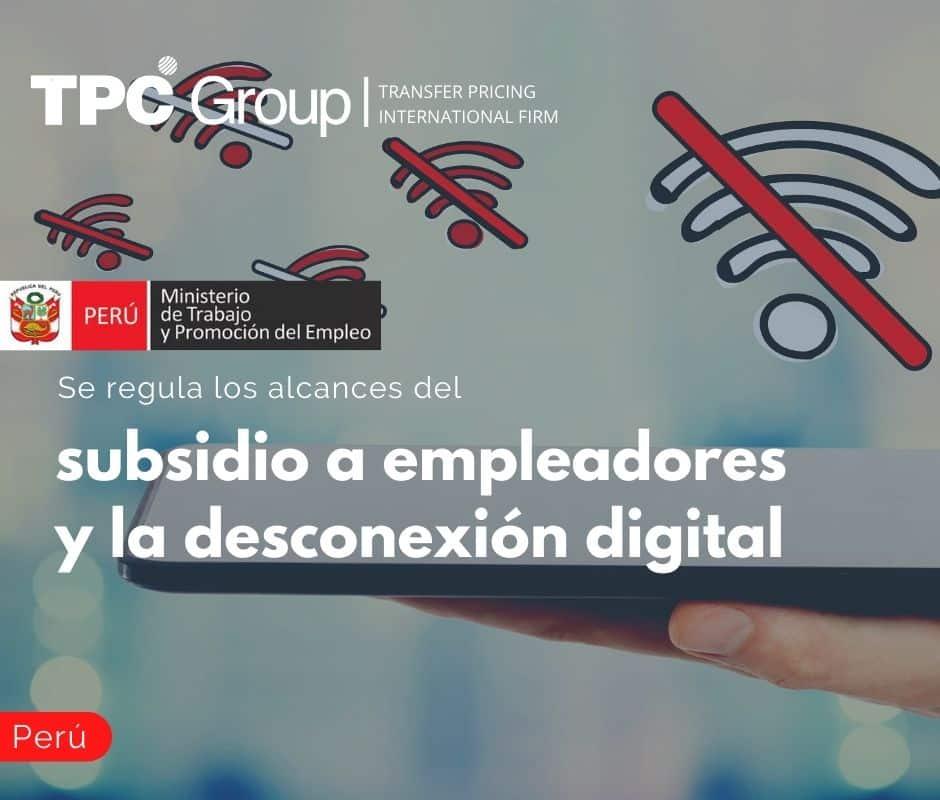 Se regula los alcances del subsidio a empleadores y la desconexión digital