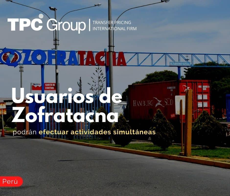 Usuarios de Zofratacna podrán efectuar actividades simultáneas.