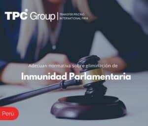 Adecuan normativa sobre eliminación de Inmunidad Parlamentaria