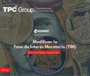 Modifican la Tasa de Interés Moratorio (TIM) en moneda nacional