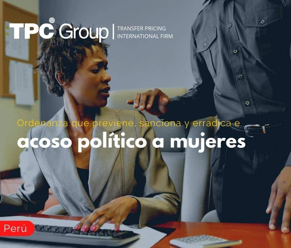 Ordenanza que previene, sanciona y erradica el acoso político a mujeres