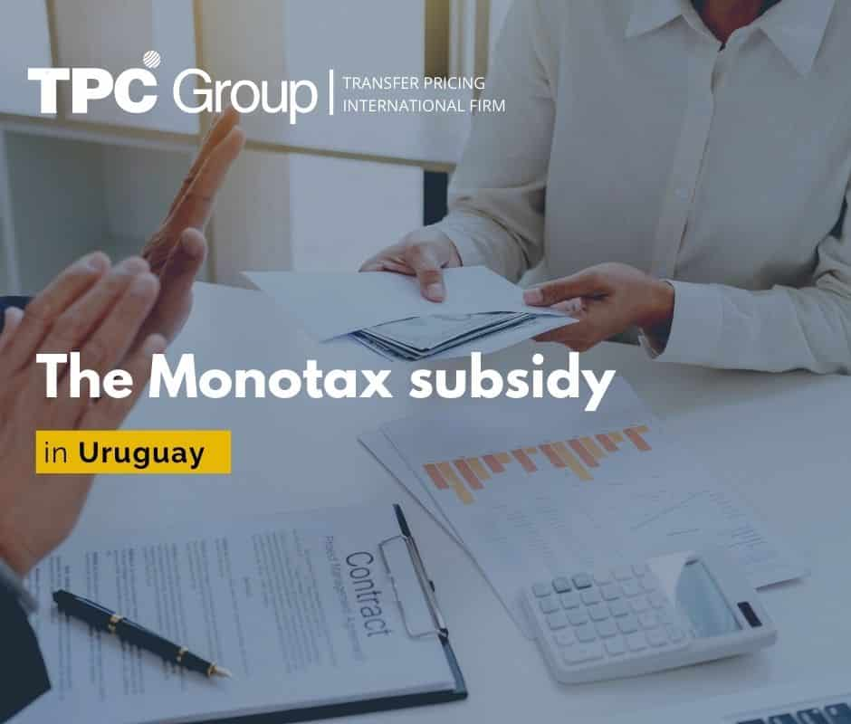 The Monotax subsidy in Uruguay