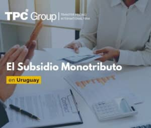 El subsidio monotributo en Uruguay