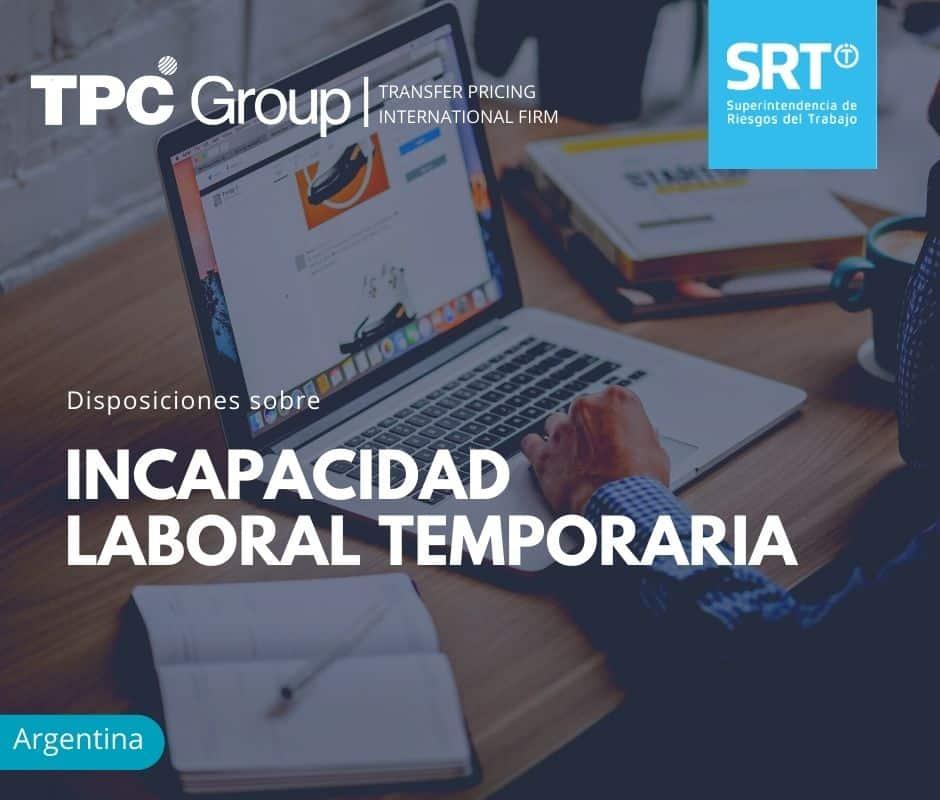 Disposiciones sobre Incapacidad Laboral Temporaria