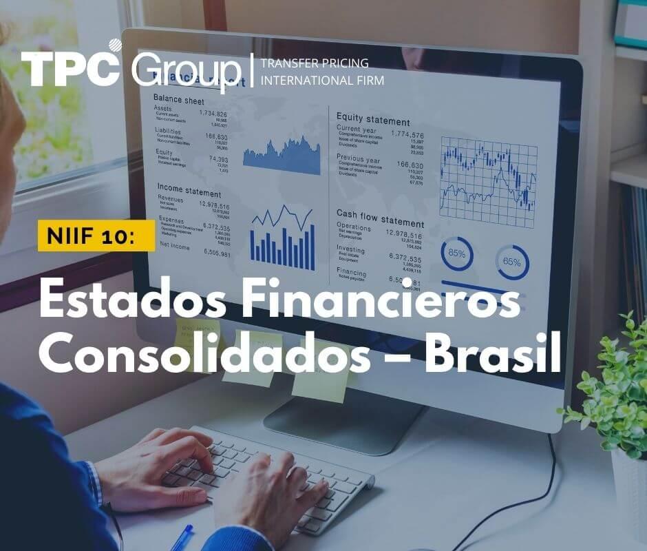 NIIF 10 Estados Financieros Consolidados en Brasil