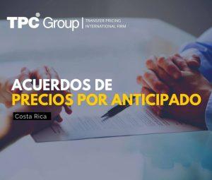 Acuerdos de Precios por Anticipado en Costa Rica