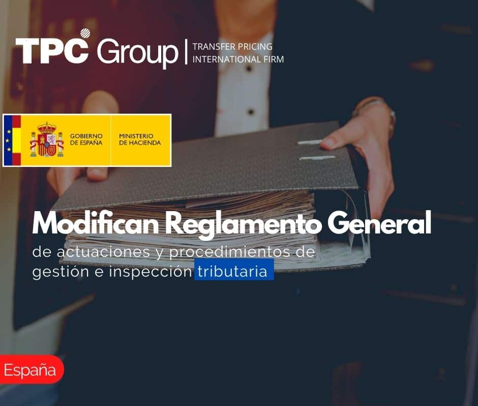 Modifican Reglamento General de actuaciones y procedimientos de gestión e inspección tributaria.