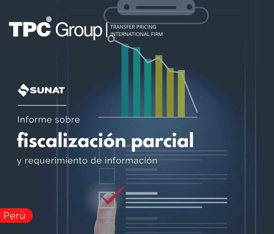 Informe sobre fiscalización parcial y requerimiento de información