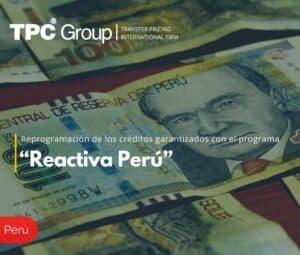 """Reprogramación de los créditos garantizados con el programa """"Reactiva Perú"""""""