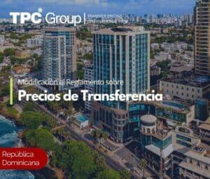 Modificación al Reglamento sobre Precios de Transferencia