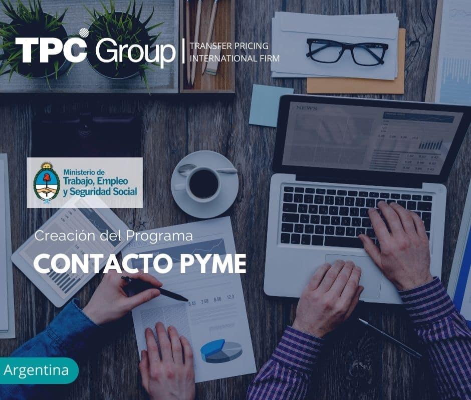 Creación del Programa CONTACTO PYME