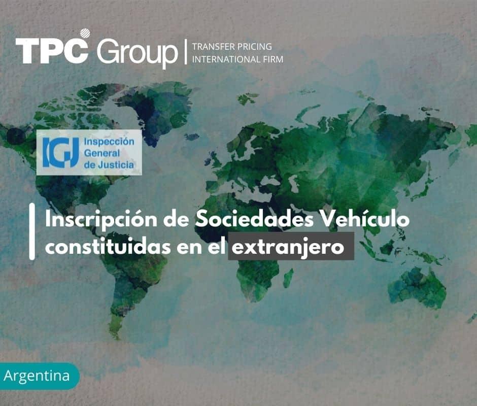 Inscripción de Sociedades Vehículo constituidas en el extranjero