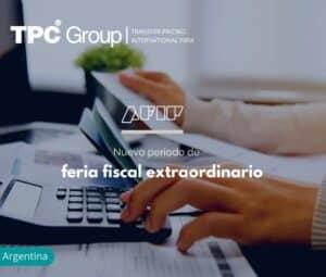Nuevo periodo de feria fiscal extraordinario en Argentina