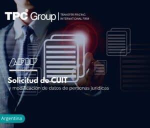 Solicitud de CUIT y modificación de datos de personas jurídicas