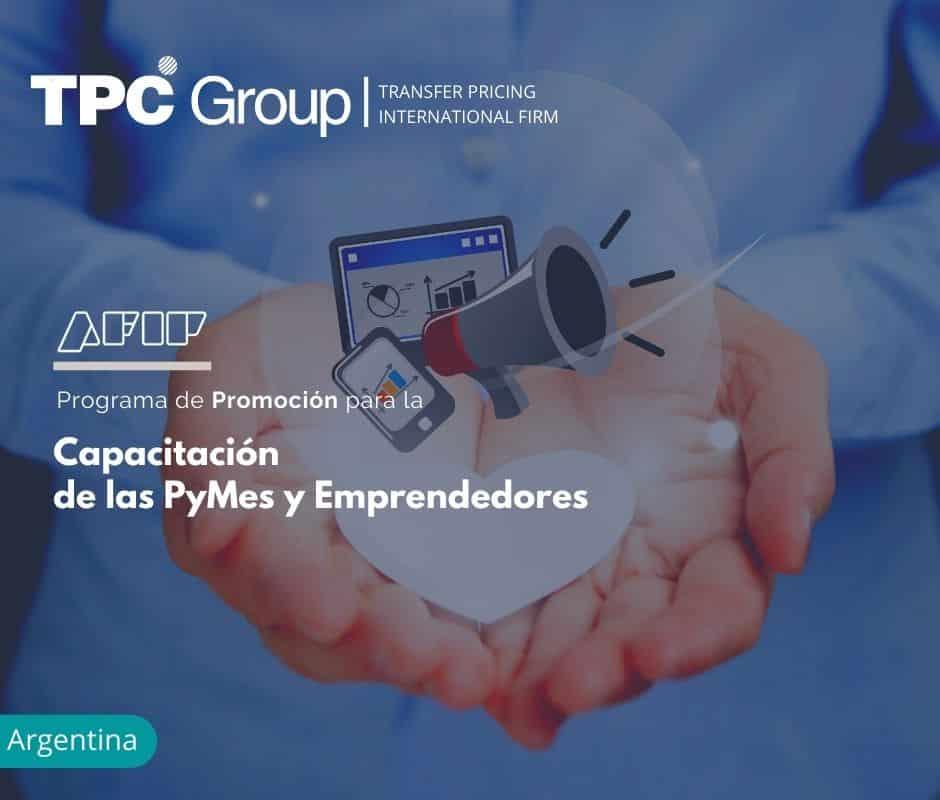 Programa de Promoción para la Capacitación de las PyMes y Emprendedores