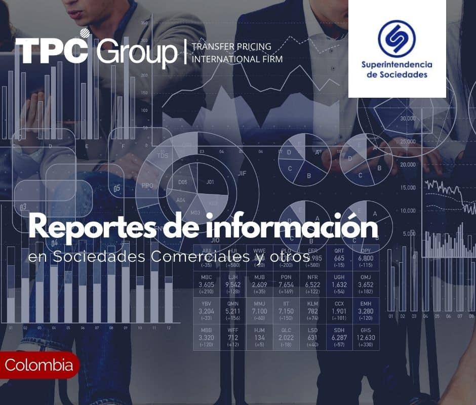 Reportes de información en Sociedades Comerciales y otros