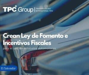 Crean Ley de Fomento e Incentivos Fiscales para el uso de vehículos automotores