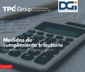 Medidas de cumplimiento tributario por afectaciones al sistema e-Tax2.0