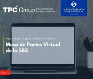 Aprueban disposiciones sobre la Mesa de Partes Virtual de la SBS