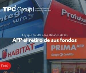 Ley que faculta a los afiliados de las AFP el retiro de sus fondos