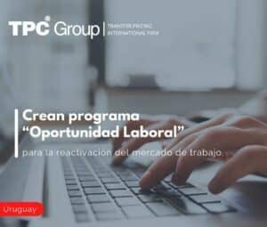 """Crean programa """"Oportunidad Laboral"""", para la reactivación del mercado de trabajo"""