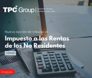 Nueva opción de tributar el Impuesto a las Rentas de los No Residentes (IRNR)