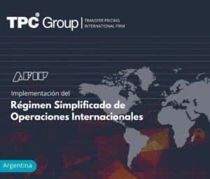 Implementación del Régimen Simplificado de Operaciones Internacionales