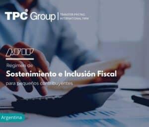 Régimen de sostenimiento e inclusión fiscal para pequeños contribuyentes