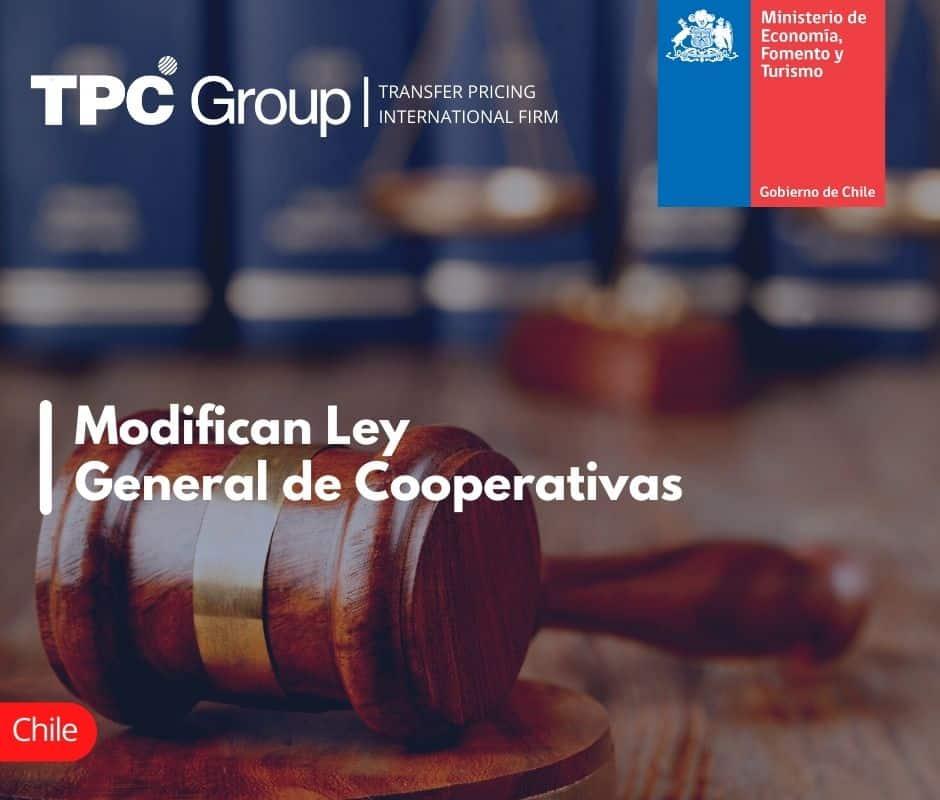 Modifican Ley General de Cooperativas