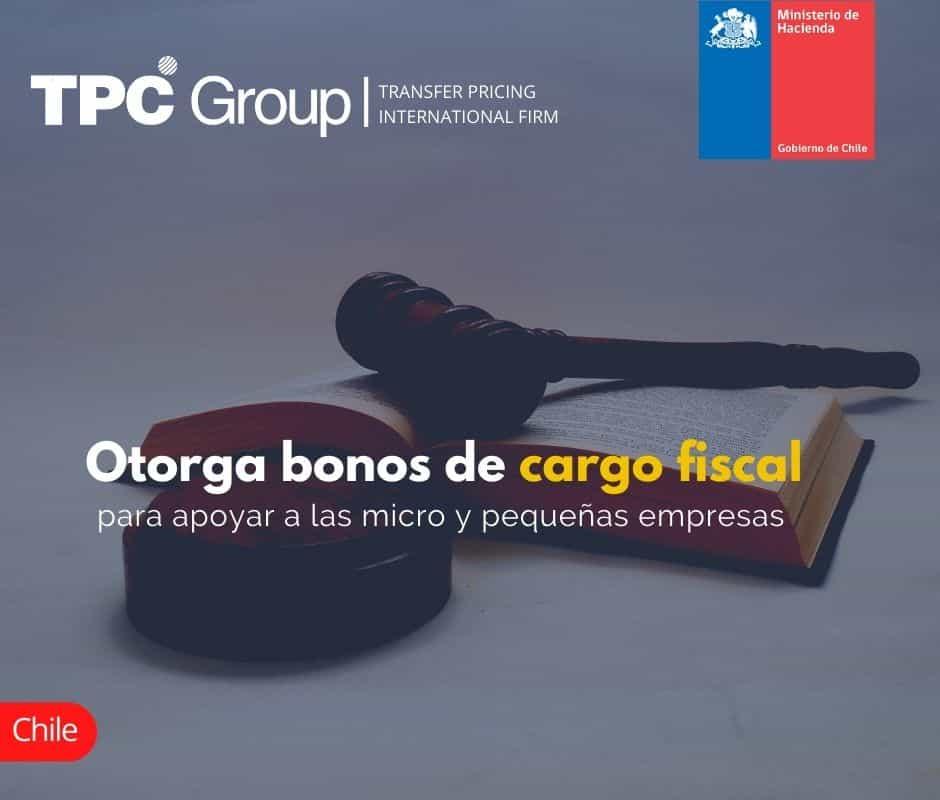 Otorga bonos de cargo fiscal para apoyar a las micro y pequeñas empresas