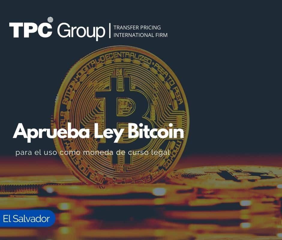 Aprueba Ley Bitcoin, para el uso como moneda de curso legal