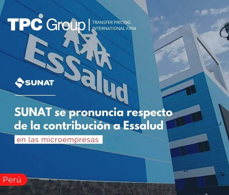 Sunat se pronuncia respecto de la contribución a Essalud en las microempresas