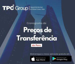 Cronograma de Preços de Transferência do Peru